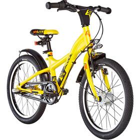 s'cool XXlite street 18 3-S - Bicicletas para niños - alloy amarillo/negro